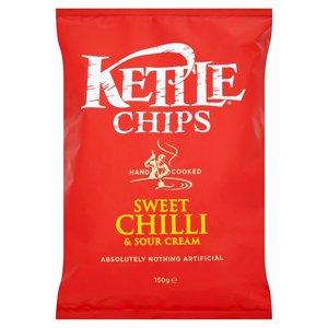 KETTLE® CHIPS PEPERONCINO DOLCE E PANNA ACIDA 150G