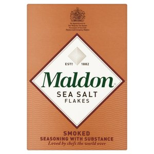 MALDON ORGANIC SEA SALT FLAKES - SMOKED 125G