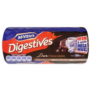 MCVITIE'S DIGESTIVES DARK CHOCOLATE 300G