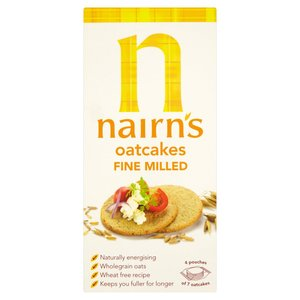 NAIRN'S FINE MILLED OATCAKES 250G