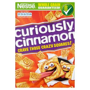 NESTLE CURIOUSLY CINNAMON CEREALI ALLA CANNELLA 375G