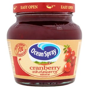 OCEAN SPRAY CRANBERRY SAUCE WHOLEBERRY 280G