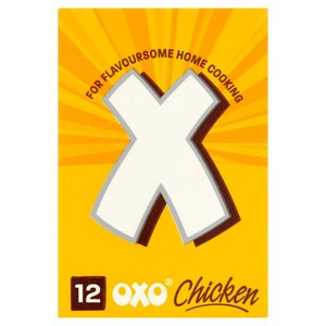 OXO STOCK CUBES CHICKEN (12) 71G