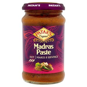 PATAK'S PREPARATO PER IL CURRY INDIANO MADRAS 283G