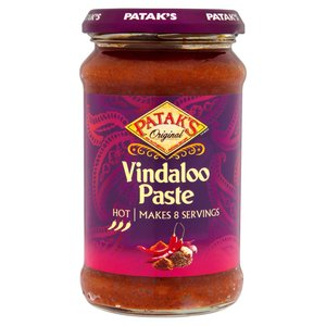 PATAK'S VINDALOO CURRY PASTE 283G best by 12/2018