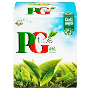PG TIPS PYRAMID TEA BAGS (240)