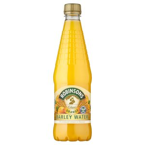 ROBINSONS ORANGE BARLEY WATER 850ML best by 08/2018