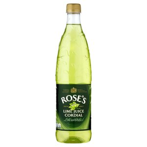 ROSES LIME JUICE CORDIAL 1 LITRE BOTTLE