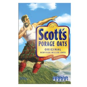 SCOTT'S PORAGE OATS 500G best by 15/09/2018