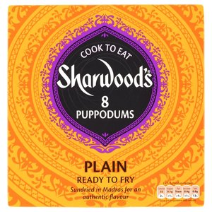 SHARWOOD'S PUPPODUMS (8) 94G
