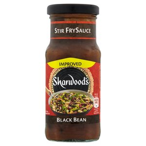 SHARWOOD SALSA AL FAGIOLO NERO 195ML