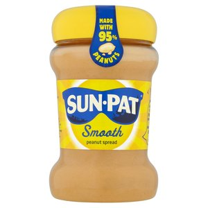 SUN-PAT® SMOOTH PEANUT BUTTER 340G best by 12/2017